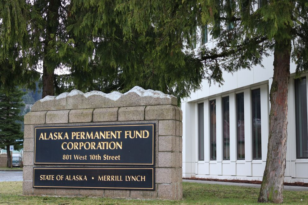The Alaska Permanent Fund Corp. headquarters in Juneau on January 20, 2018. (Nathaniel Herz / ADN)