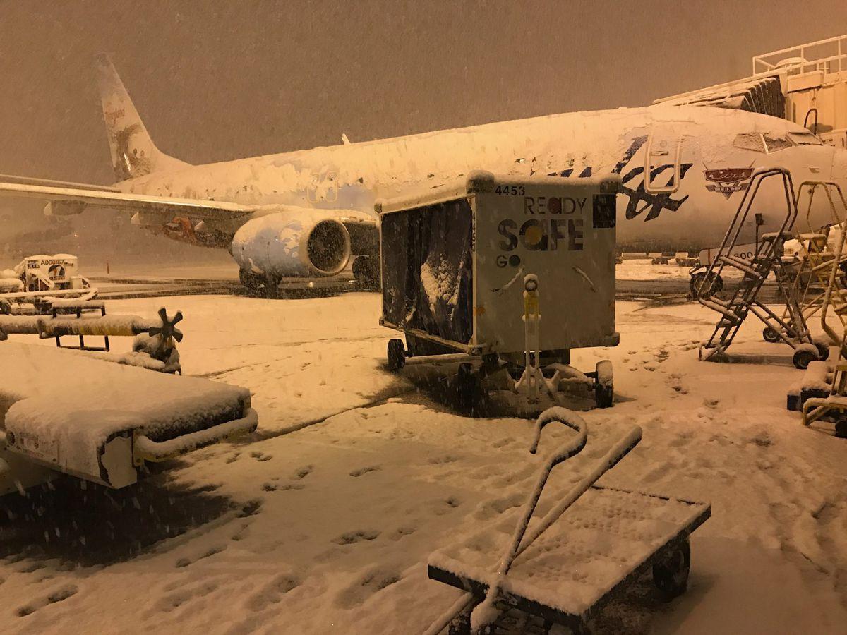 Alaska Airlines Flights Resume After Seattle Snowstorm Anchorage