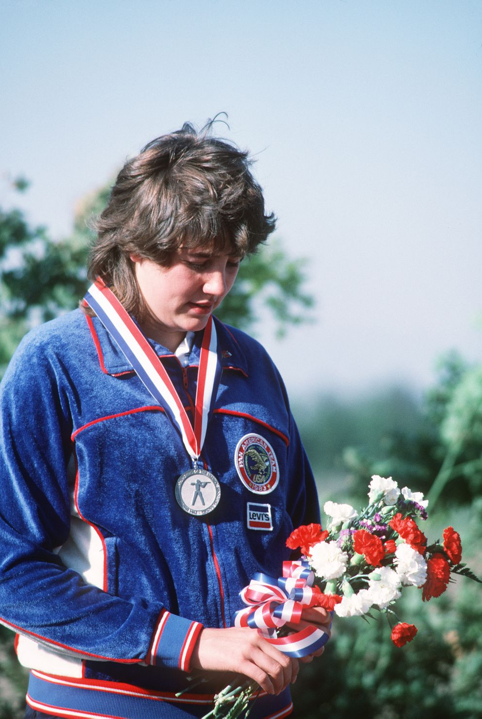 Pat Pitney was 18 years old when she won the gold medal in women's air rifle at the 1984 Olympics in Los Angeles. (Photo courtesy Pat Pitney)