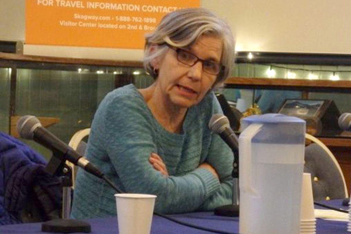 Skagway mayor Monica Carlson. (Photo by Emily Files / KHNS Haines)
