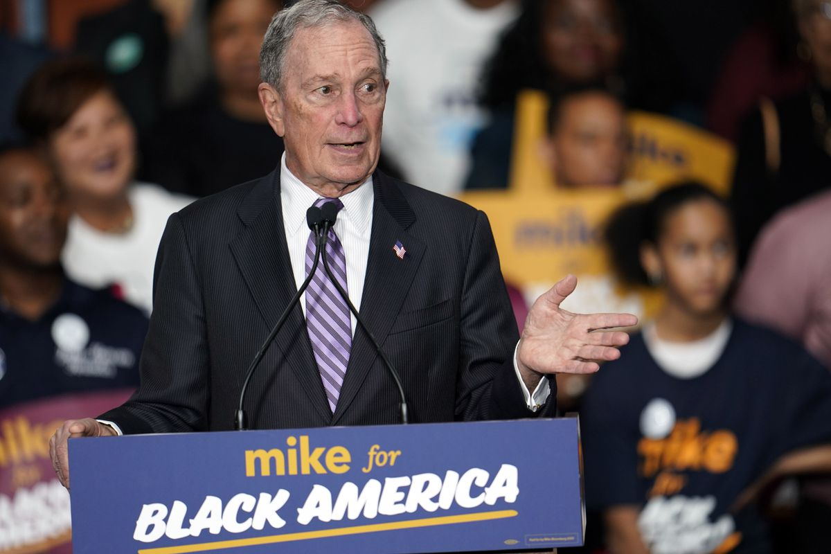Former New York mayor Mike Bloomberg qualifies for...