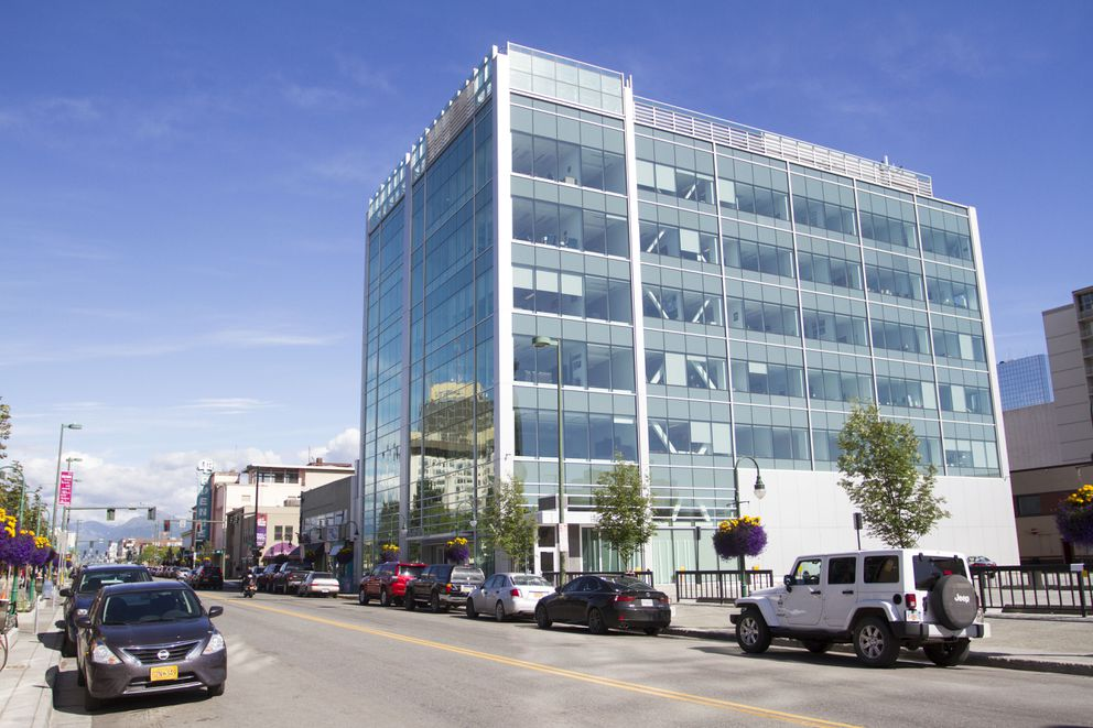 The downtown Anchorage Legislative Information Office in 2016 (Sarah Bell / Alaska Dispatch News)