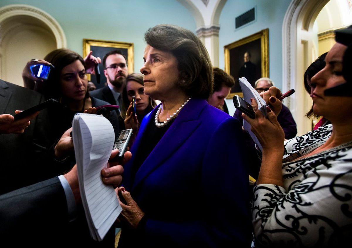 Sen. Diane Feinstein. (The New York Times)