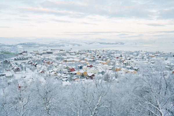Accusations that a retired border inspector was spying have jolted Kirkenes, Norway. (Photo for The Washington Post by Ksenia Ivanova)