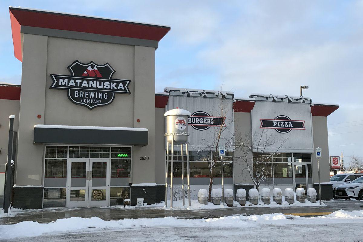 Matanuska Brewing Co., at 2830 C St. in Midtown Anchorage. Dec. 13, 2018. (Annie Zak / ADN)