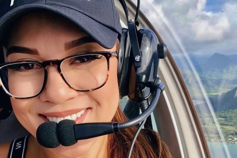 McKenna Vierra, 27, died Monday July 26, 2021 during a plane crash in the Eagle River Valley. Vierra had a private pilot license and was working toward a commercial license, her family said. (Photo courtesy of Liane Vierra)