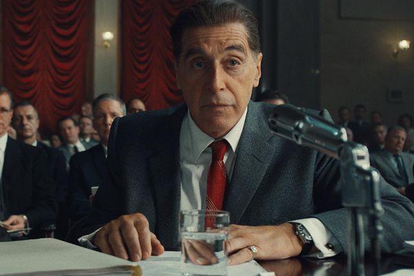 Al Pacino, right, in