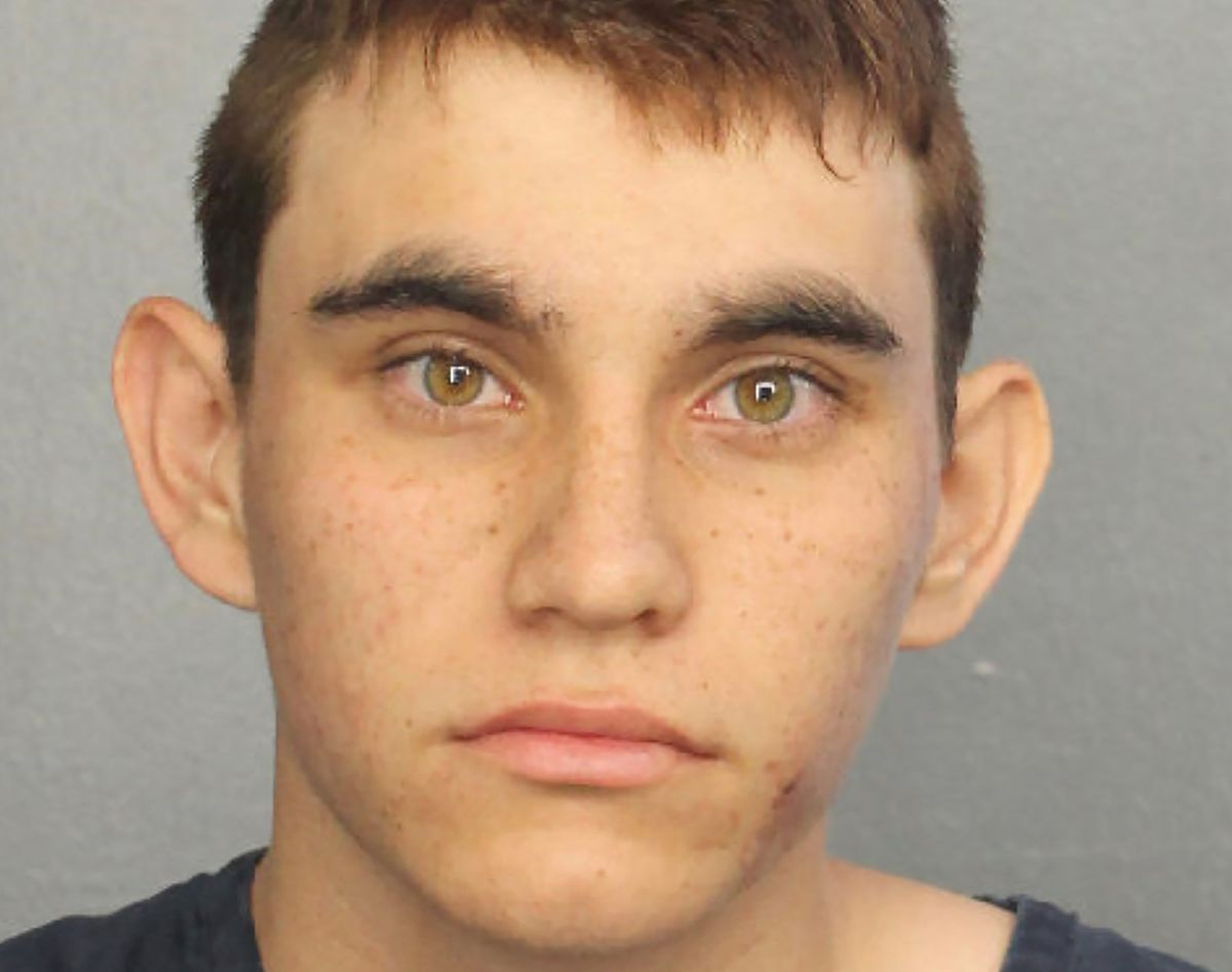 Nikolas Cruz appears in a police booking photo after being charged with 17 counts of premeditated murder Thursday in the Parkland school shooting, at Broward County Jail in Fort Lauderdale, Florida. Broward County Sheriff/Handout via REUTERS