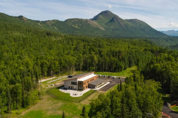 The Ernie Turner Center in Eklutna, photographed Tuesday, July 31, 2018, is a new 16-bed residential treatment facility that will treat individuals with addiction and mental health issues. (Loren Holmes / ADN)