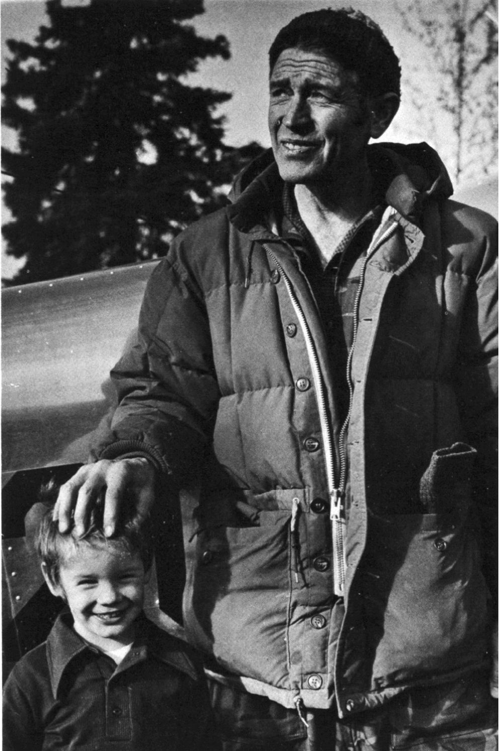 Don Sheldon and son Robert in this 1974 photo. (Photo provided by the Sheldon family)