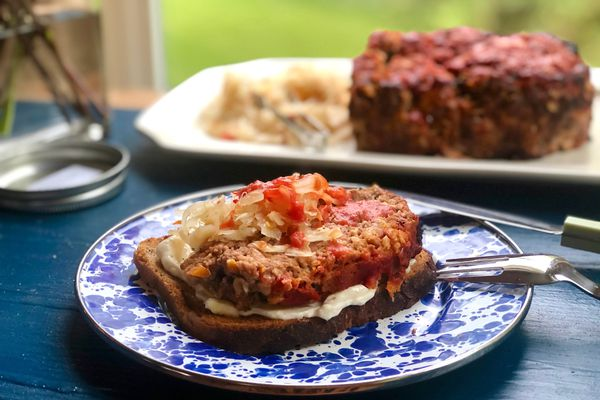Ultimate meatloaf sandwich (Photo by Kim Sunée)