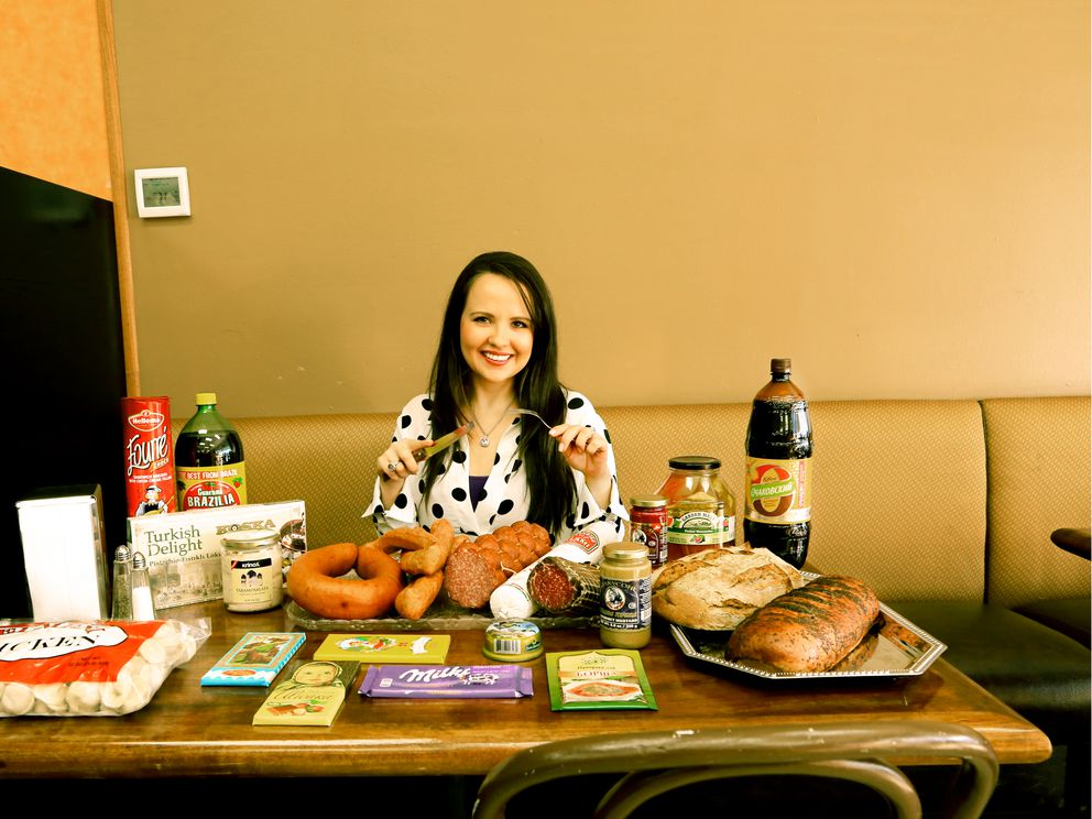 Nonna Pryt at the Eastern European Store & Deli. (Rejoy Armamento / Alaska Dispatch News)