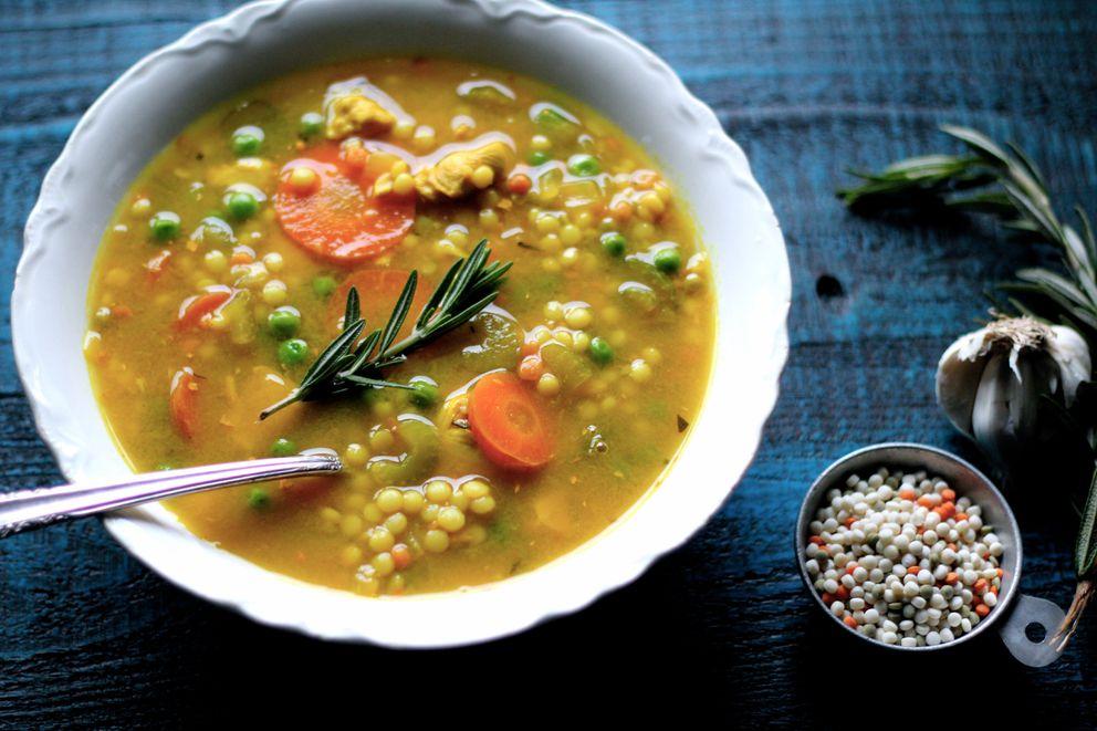 The best turkey soup you'll ever eat. (Maya Wilson/ Alaska From Scratch)