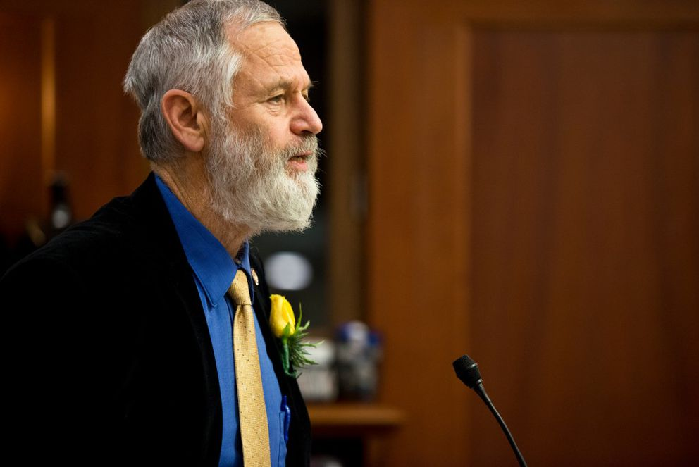 Rep. Paul Seaton, R-Homer, at the Alaska Capitol in Juneau last month (Marc Lester / Alaska Dispatch News)