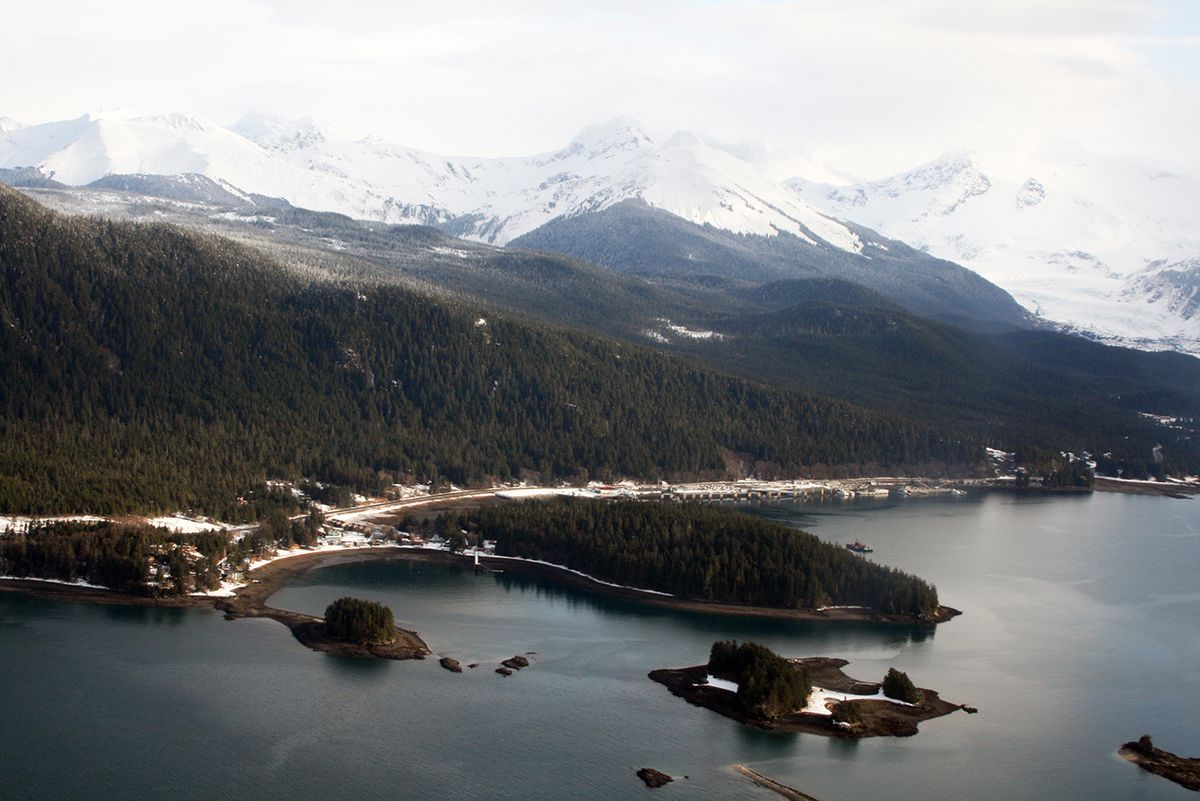 Indian Point in Auke Bay was added to the National Register of Historic Places in July. The roughly 78-acre site is located past the Juneau Ferry Terminal and before the Auke Recreation Area. (Beverley Demientieff / Sealaska Heritage Institute)