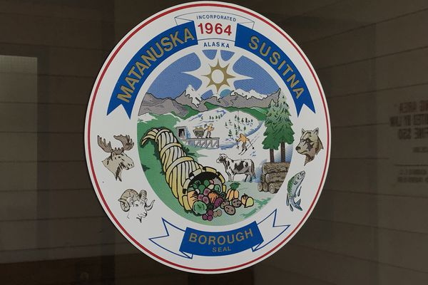 Matanuska Susitna Borough seal. July 30, 2018. (Bill Roth / ADN)
