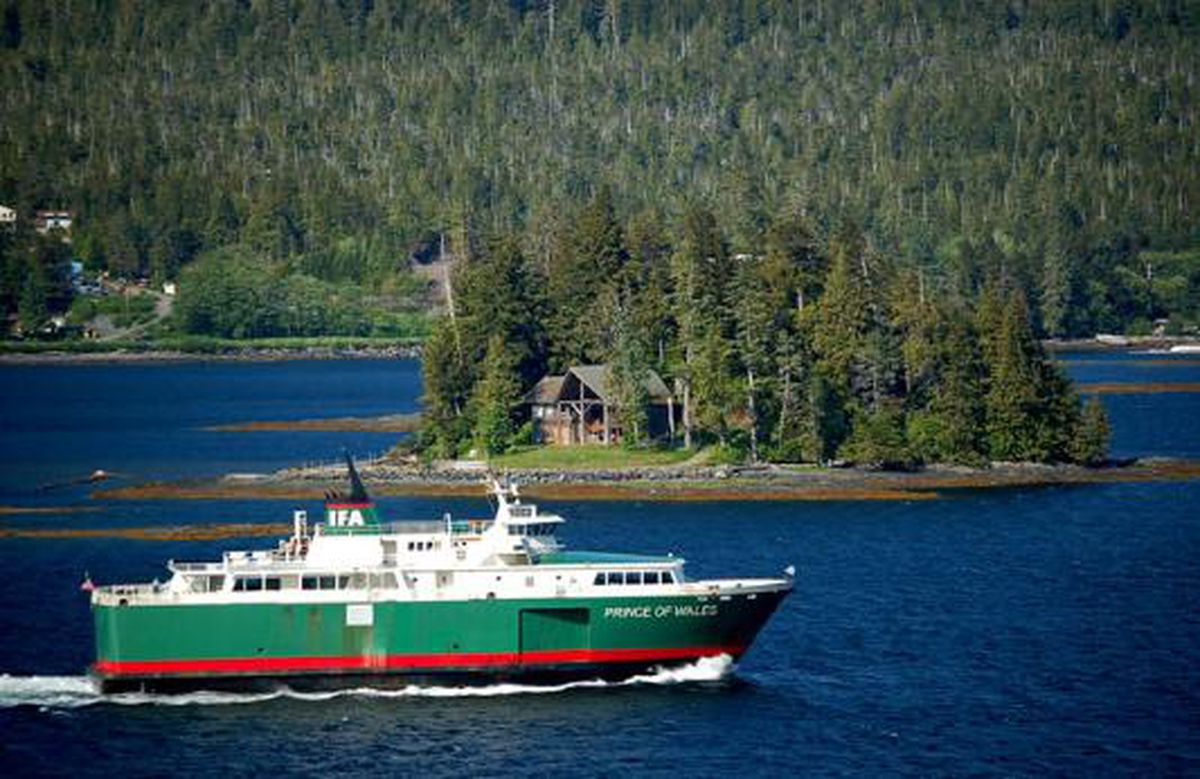 Southeast Alaska ferry route suspended after ship's 'catastrophic' mechanical failure