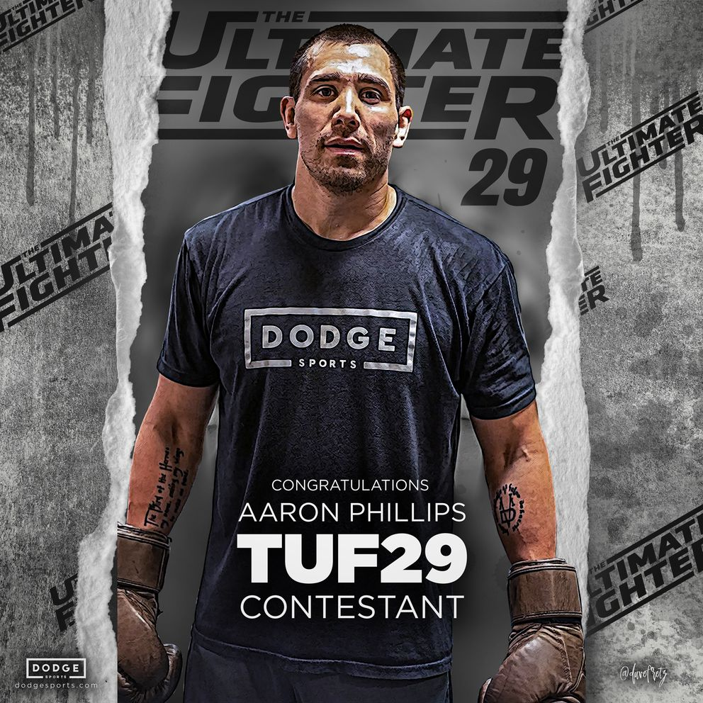Aaron Phillips of Kotzebue is one of 16 middleweights chosen to appear in 'The Ultimate Fighter 29. ' (Photo courtesy Dodge Sports)