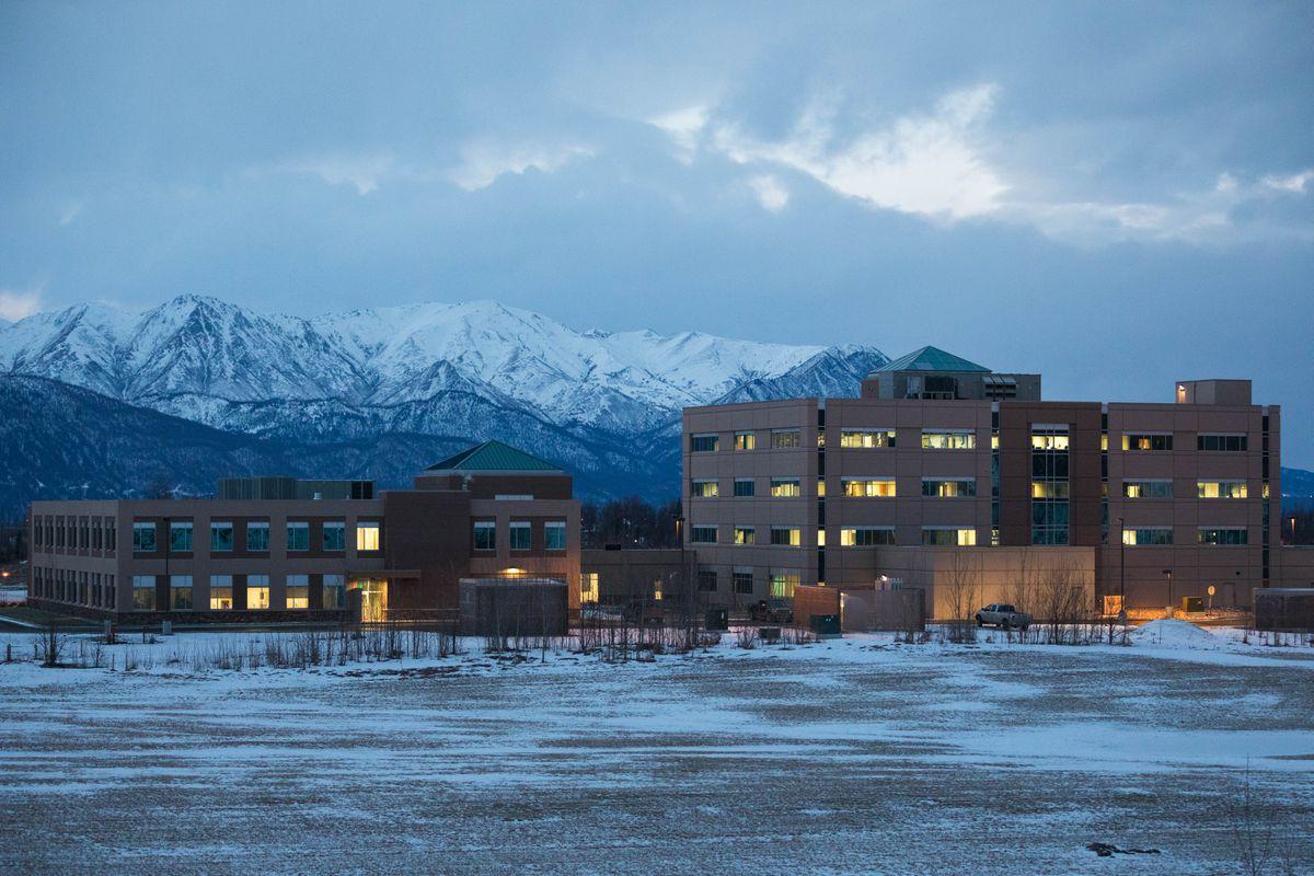 The Mat-Su Regional Medical Center, photographed on Jan. 23, 2019. (Loren Holmes / ADN)