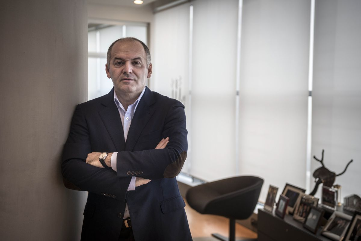 FILE — Victor Pinchuk, a Ukrainian steel magnate, in Kiev, Ukraine, Dec. 16, 2013. The special counsel is investigating a payment Pinchuk made to the Trump Foundation in 2015 for a talk during the campaign, as part of a broader examination of streams of foreign money into the Trump Organization in the years leading up to the election. (Sergey Ponomarev/The New York Times)