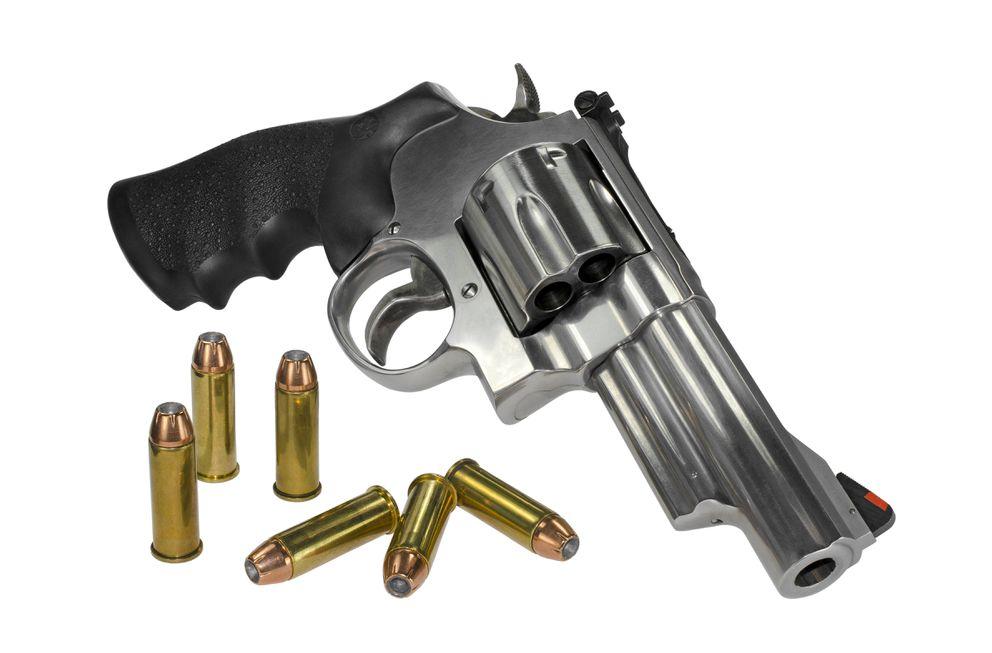 .44 magnum revolver. (iStock / Getty Images)