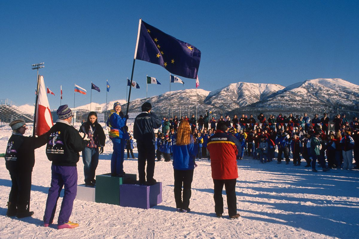 The 1996 Arctic Winter Games were held in Eagle River-Chugiak. (Bill Roth / ADN archive)