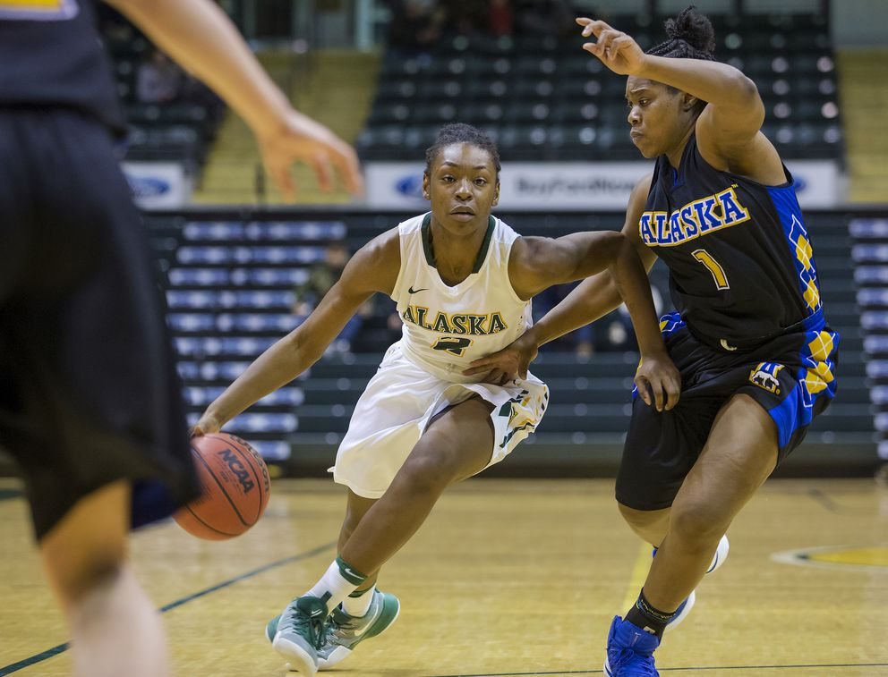 Basketball provided Kimijah King with stability during a tumultuous period. (Skip Hickey / UAA)