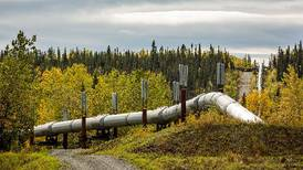 Alaska, facing a deep deficit, suffers by oil tax law