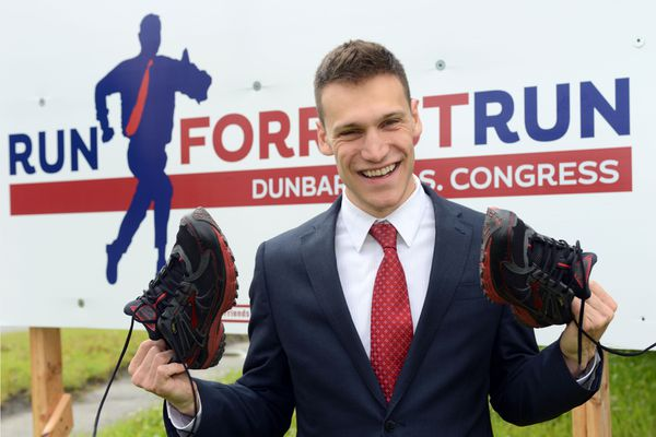 OPINION: Millennials must resist the temptation to drop out of the political system, because we must fight for the things we care about. Pictured: Forrest Dunbar, Democratic candidate for Alaska's lone U.S. House seat.