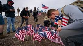 JBER paratroopers hike Gold Star Peak to honor and remember their 77 fallen brothers and sisters in arms