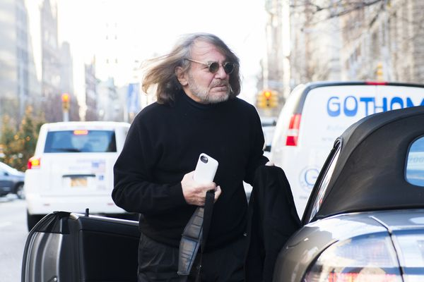 In a December 2015 file image, Dr. Harold Bornstein, the one-time personal physician to Donald Trump, arrives at his New York office. (Joe Marino/New York Daily News/TNS)