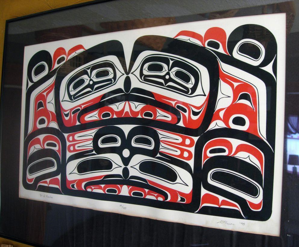 'Bit of Alaska ' by Wayne Price. (Photo courtesy of Cheri Price)