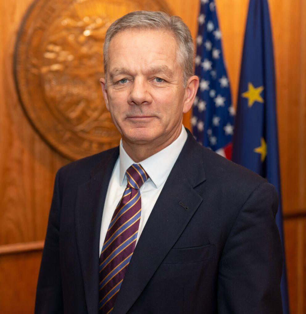 Ben Stevens, Dunleavy's chief of staff. (From Alaska governor's website)