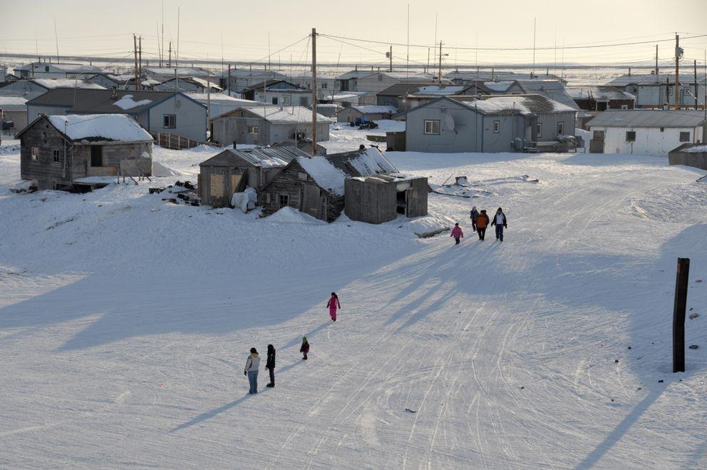 Selawik, Alaska. (Bob Hallinen / ADN archive)