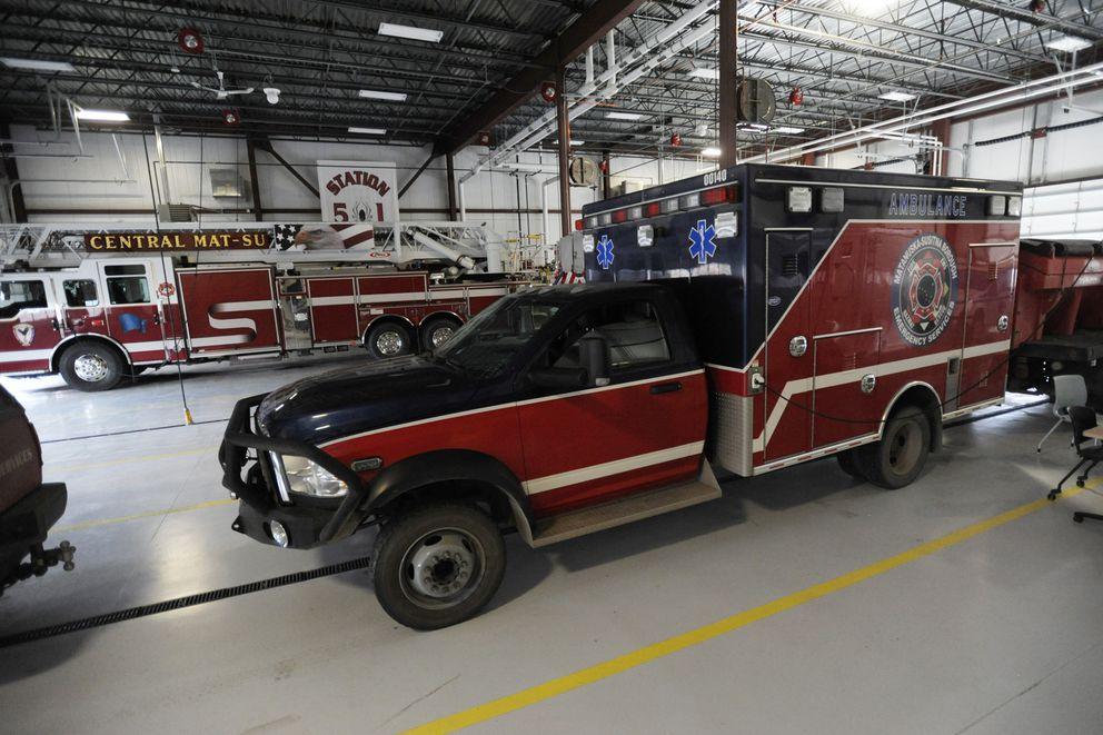 The Matanuska-Susitna Borough assembly approved adding 25 EMT's and paramedics to staff ambulances. (Bill Roth / ADN)