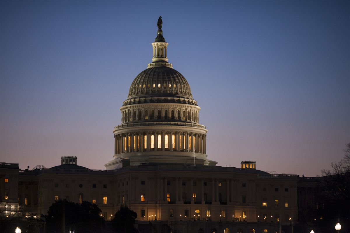 FILE – In this March 17, 2017, file photo, the Capitol is seen at dawn in Washington. An overwhelming majority of Americans see the United States as greatly divided on important issues, and few say they believe that will get better any time soon, according to an October poll by The Associated Press-NORC Center for Public Affairs Research. (AP Photo/J. Scott Applewhite, File)