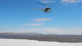 To understand aufeis, drones and frozen lobes, Alaska's resource industry relies on university research