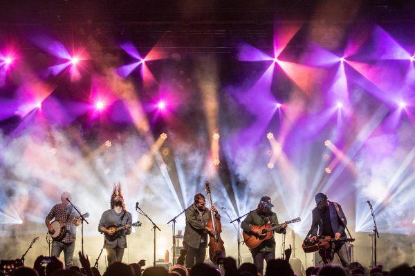 Greensky Bluegrass will play Salmonfest Saturday, Aug. 7, 2021 (Photo courtesy Salmonfest)