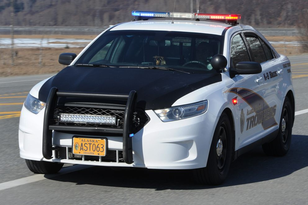 The current Alaska State Troopers vehicle design. (Bill Roth / AlDN, 2017)