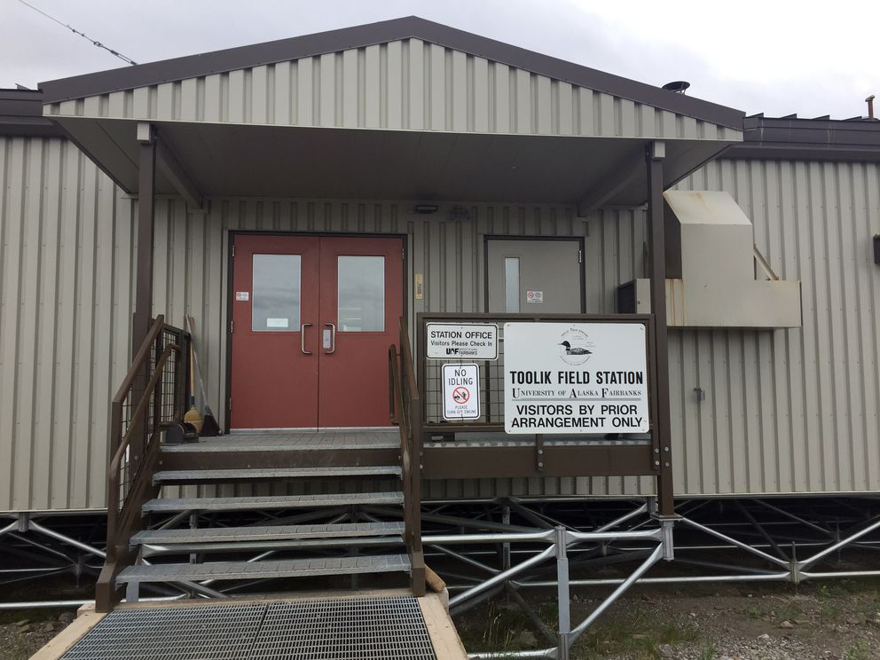 Toolik Field Station dining quarters, where hot meals are served three times a day and snacks are available all the time. (Kelsey Lindsey / Alaska Dispatch News)