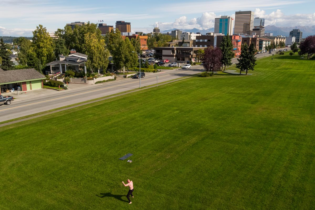 More sunny weather is on the way, the National Weather Service says.Thursday, Sept. 6, 2018. (Loren Holmes / ADN)