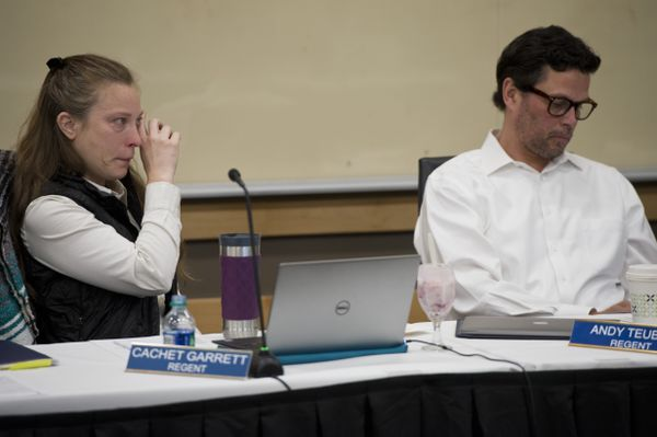 Faced with $135M budget cut, UA regents declare financial