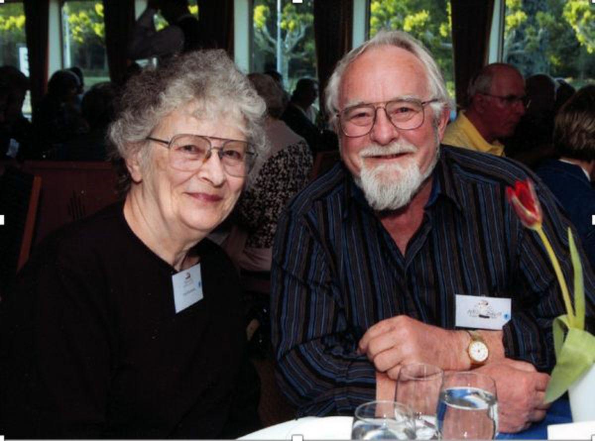 The late couple Rosemarie and Neil Davis of Fairbanks. (Photo by Merritt Helfferich)