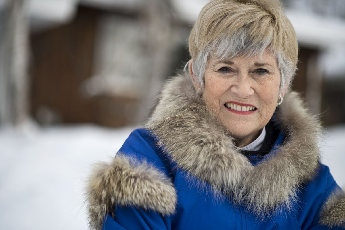 In 1978, Cindy Roberts won the Mrs. America contest. She lives in Anchorage. Photographed on March 2, 2018. (Marc Lester / ADN)