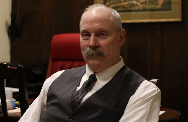 Sitka Republican Sen. Bert Stedman (Nathaniel Herz / ADN)