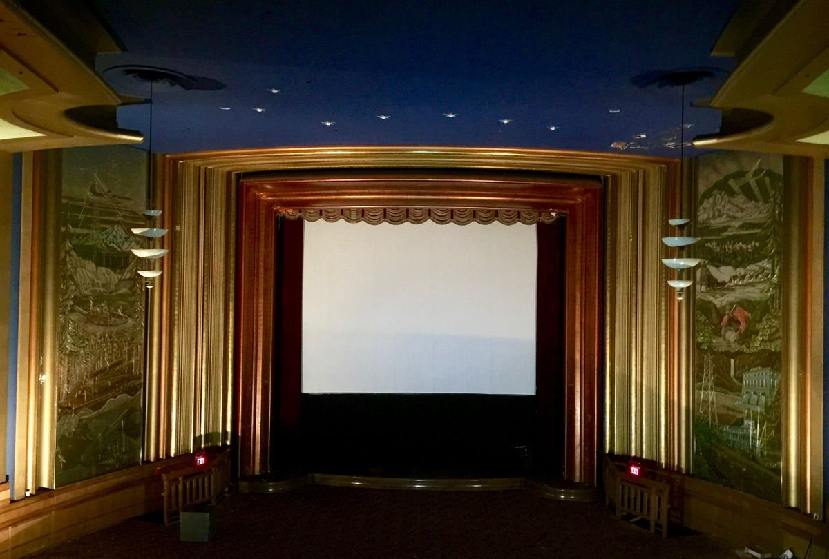The interior of the 4th Avenue Theatre appears to be in fairly good shape in May, 2015. (Ira Perman)