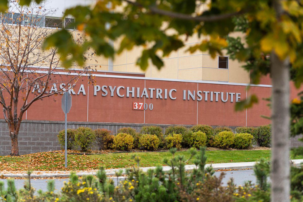 The Alaska Psychiatric Institute, photographed Tuesday, Oct. 8, 2019. (Loren Holmes / ADN)