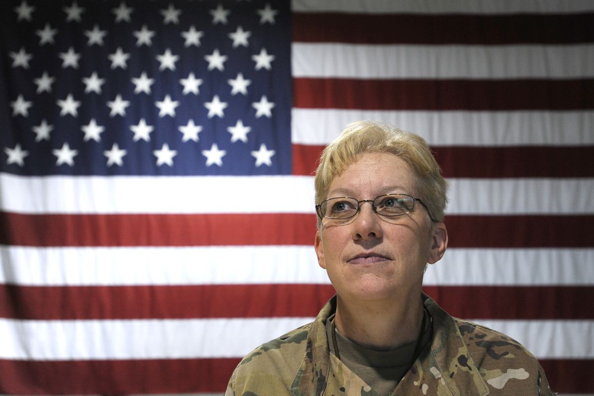 Maj. Gen. Laurie Hummel is the adjutant general of the Alaska National Guard and the commissioner of the Alaska Department of Militaryand Veterans' Affairs. Tuesday, Sept. 26, 2017. (Bill Roth / Alaska Dispatch News)