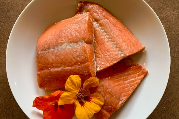 Smoked salmon (Julia O'Malley)