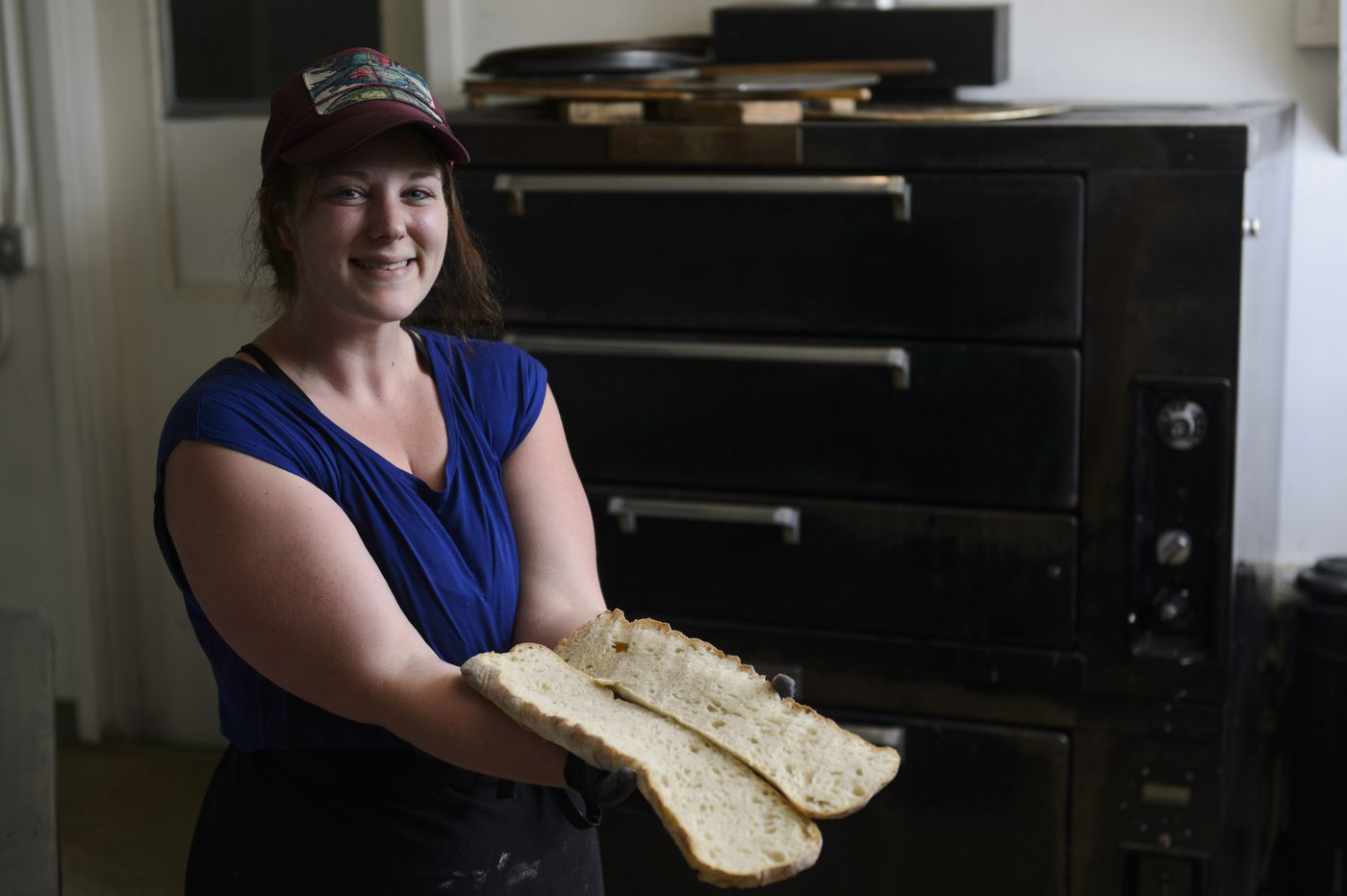 Katie Wright operates Concoction Breads and Provisions from the Anchorage re:MADE building in South Anchorage. (Marc Lester / ADN)